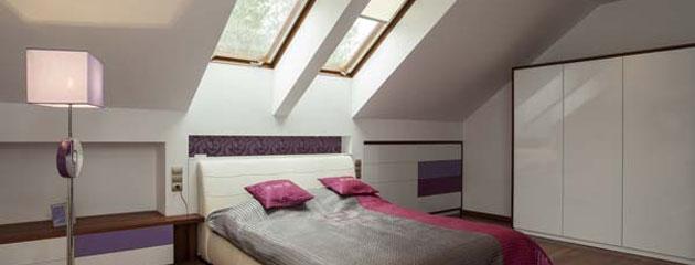 zolderrenovatie slaapkamer